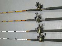 I have lots of striper or catfish fishing gear for