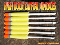 "New High Rock Catfish Noodle Jugs 20"" long (YELLOW). 4"