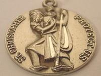 Saint Christopher is the Catholic patron saint of
