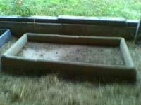 Fiberglass Foot Bath used for our dairy cattle. Call .