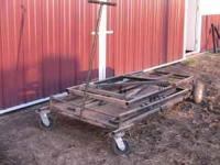We have for sale cattle show equipment. we have a very