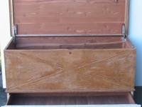 Cavalier Cedar Lined Chest Pull out lined drawer Oak
