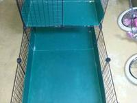 This Guinea Pig cage is gently used and a great option