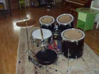 It's a CB sp series 5 piece drum kit for sale. Great