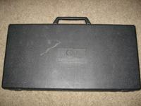 Up for sale here is a CB Percussion Bell Kit w/ Case +