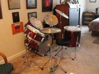Selling a brand new CB Drum Set due to a move to Italy