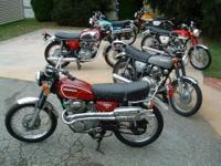 for sale old Honda motorcycles -prices vary -sold