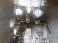 I have a CB 450 motor. The bike was pulled apart to