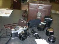 BUYING VINTAGE 35MM SLR FILM CAMERAS PAYING CASH FOR
