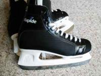 CCM Rapide 101 skates. Worn once. Size 8. Great for the