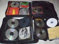 CD collection for sale 136 original CD's plus 50 copied