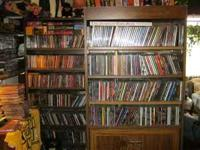 Large CD/ Concert DVD collection up for sale.Thousands