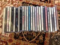 26 cd's excellent shape $20 variety of artists