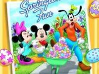Disney's Springtime Fun New factory sealed. Retail