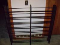 "48"" Tall x 48"" Wide x 8"" Deep CD/Media Rack.  Supports"