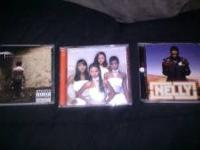 I have 3 cds -nelly suit -Destinys child writings on