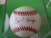 Cecil Cooper BASEBALL autograph has COA by PSA - Teams