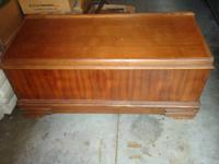 Here we have a cedar chest that measures approx. 44""