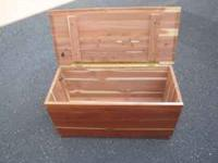 gorgeous cedar chest for sale PRICE REDUCED $80 come