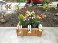 Cedar Flower / Planter Boxes. Great for vegetables or