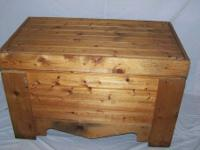 Cedar Hope Chest $95. Solid hardwood. Super sturdy,