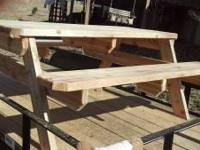 Get ready for spring with a new picnic table made with