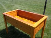 Offered is a brand new cedar deck or patio planter.