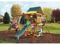 For sale I have brand cedar summit brookridge playset.