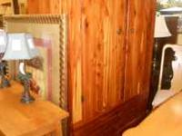 Great Deal on a Cedar Wardrobe~ Come in and check it