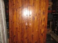 Cedar Wardrobe/Armoire -- Great warmth and charm look.