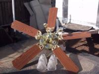 Ceiling Fan, excellent condition $20.00. Call .