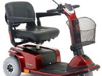 The Celebrity X 3-Wheel Handicapped Scooter is a