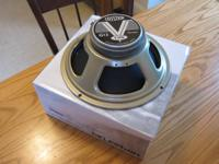"Celestion V-Type 12"" guitar speaker as new in box. 8"