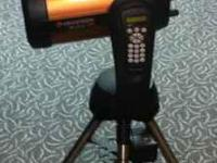 Like new Celestron 8SE. Little over 1.5 yrs old. Comes