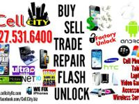 We have a huge inventory on used and new cell phones