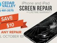 MDR Cedar Valley offers professional cell phone repair
