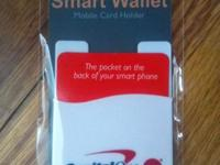 Stick this self-adhesive, silicone rubber wallet to the