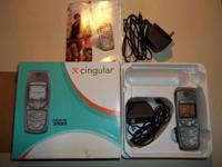 Nokia Cingular Wireless Phone With Two Home Chargers