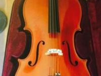 i purchased this handmade german cello, hard case, and