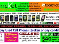 WE ARE STORE.  WE REPAIR all phones  any problem screen