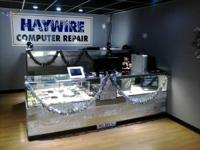 Cellphone screen can be replaced at Haywire Computer