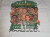 I AM SELLING MY COLLECTION OF CELTICS PRIDE WINNING