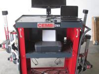 CEMB Alignment Machine, Model: DWA1000XL Unit is being