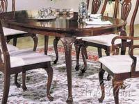 Centennial Oval Cherry Finish Dining Table The