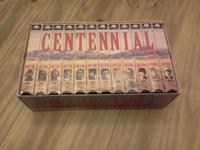Fully complete VHS set of Centennial. Great addition