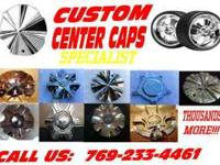 Custom Center Cap Specialist will replace your Lost,