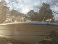 1999 center console 20 foot angler 150 mercury depth
