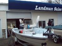 1987 fiberglass angling watercraft in great condition.