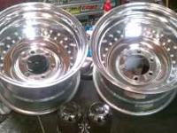 16X10 6-lug Center Line rims for sale 150.00 both rims