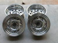 This is a set of 4 Centerline Warrior Wheels. The are